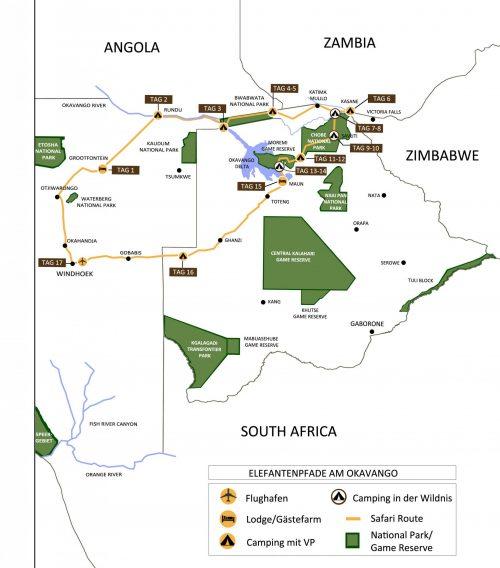 Karte-Elefantepfade-am-Okavango